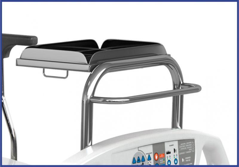 Opcional: suporte de monitor para VLT-932 com leito de 70 cm e cabeceira de polietileno C-30